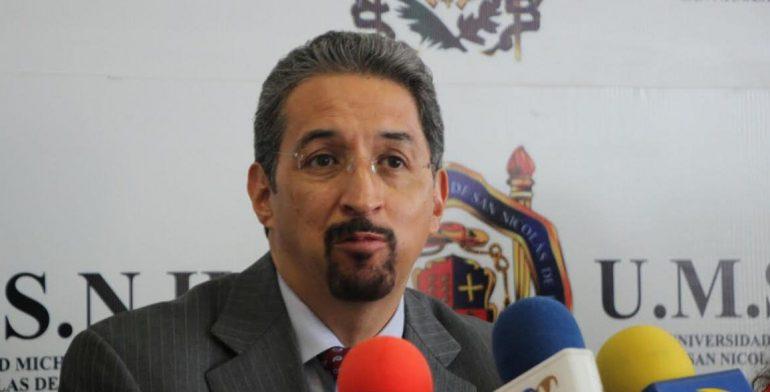 Cero tolerancia a ilícitos en la UMSNH: rector